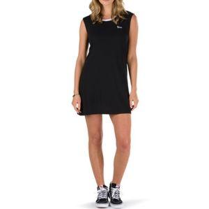 VANS pipan muscle black sleeveless dress